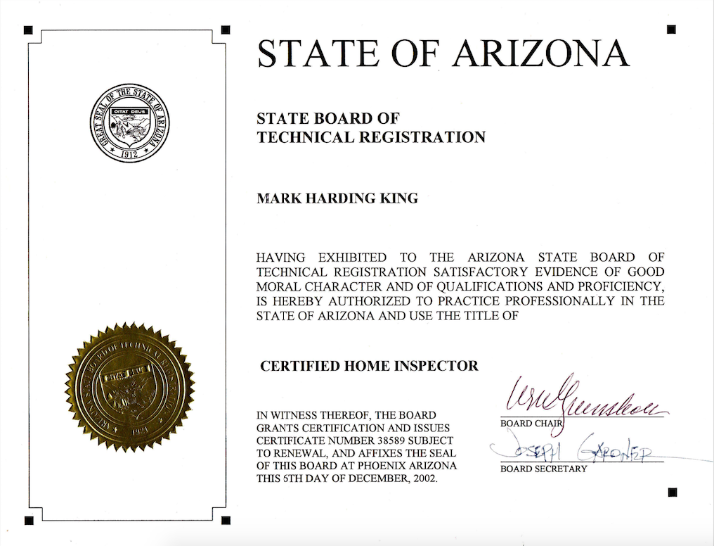 BTR Arizona state registration