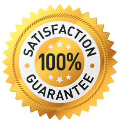 100% satisfaction guarantee on home inspections