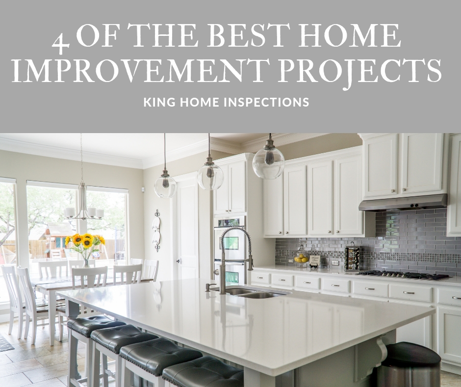 4 of the Best Home Improvement Projects